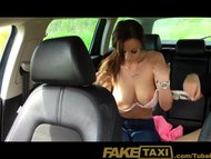 FakeTaxi College girl with big