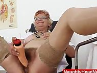 Woolly grandma unshaved twat c