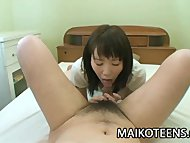 Satsuki Ejiri - Beautiful Japan Teen Fucked From Behind