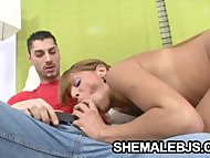 Melina - A Big-Cock Craving Latina Shemale