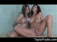 Taylor Vixen Showers With...