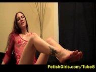 Sexy feet goddess Alissa