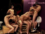 Gangbang fraternity 1 from Hammerboys TV