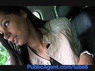 Publicagent Stunning brunette