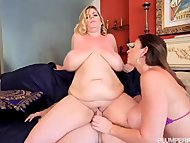 Sara Jay N Tiffany Blake Fucked By Big Cock Stud