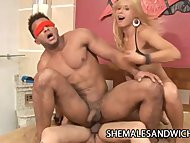 Duda Little And Camilli Rios - Two Horny Shemales Teaming Up For A Hard Rod