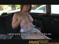 Faketaxi Young girl with ...