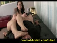 Footjob therapy with Asht...