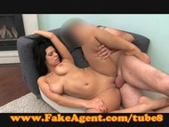 FakeAgent Sexy amateur gives strip tease in casting