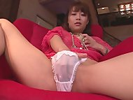 Maika cums hard in this j…