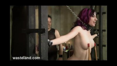 Wasteland.com BDSM Expert Flogging - MaleDom Whips female submissive
