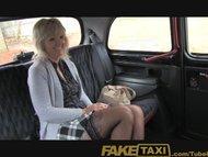 FakeTaxi Mature blonde mom has