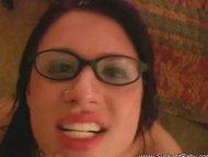 Eva Angelina With Glasses Blowjob