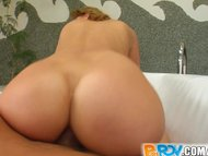 Pure POV cowgirl with big ass fucked