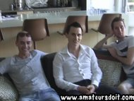 Threesome With Aussie Men Will Marco and Chris - Part 1 The Interview