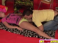 Young amateur enjoys fucking