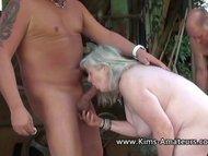 Busty mature Kims amateur comp