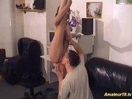 cute boneless contortionist fuck in crazy kamasutra