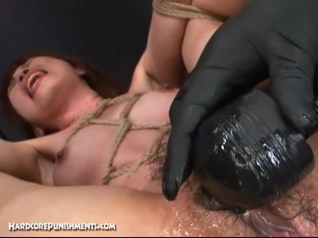 Japanese FemDom BDSM Dungeon Scene With Intense Pussy Torment Domination