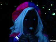 Britney Amber Lesbian BTS