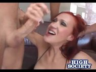 Hot MILF Bailey Gets Two Large Dicks