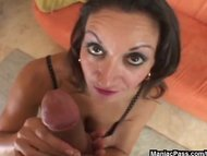 Crazy POV sucking and fuc...