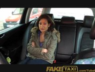 FakeTaxi 18 years old and sucking taxi cock