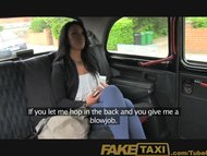 FakeTaxi Suck my cock to the balls or walk