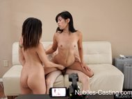 Nubiles Casting - Will a pussy full of jizz get her the job?