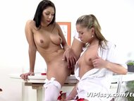 VIPissy - Jessica Rox and her piss loving girlfriend