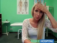 FakeHospital Blonde womans headache cured by cock and her squirting orgasm