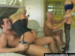 Blonde Sex Slaves Assfucked And Creamed