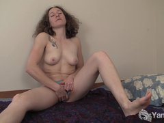 Tube8 - Curly Haired Nina Fing...
