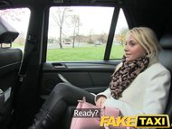 FakeTaxi Blonde customer seduc