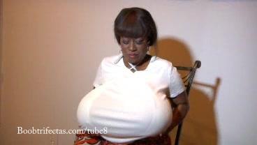 jeannetta Joy - The Gigantic Black Boobs of the Black Chelsea Charms