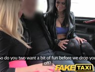 FakeTaxi Hot sexy taxi foursom