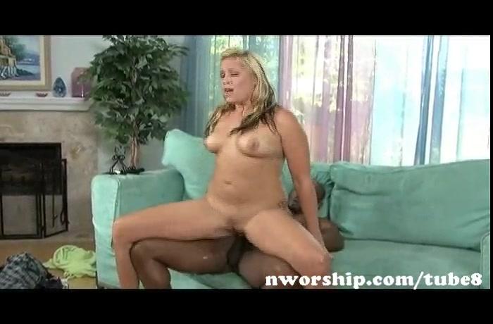 hot blonde milf enjoy interracial sex with big black cock and black cum