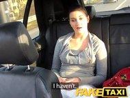 FakeTaxi Backseat sex on ...