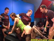Fucked and piss drenched