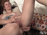 Sexy Harley Fingering Her...