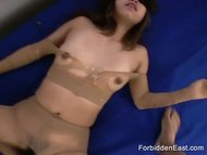 japanese submissive woman pantyhose ripped off and fucked.