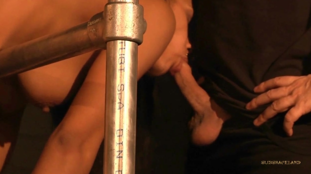 Dark slave punished and played in bdsm games
