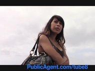 PublicAgent Latina babe gets f