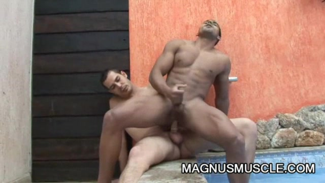 Poax Hoffin - Ripped Dude And Boyfriend Gay Sex