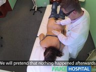 FakeHospital Pretty patient was prepped by nurse now gets the full doctors