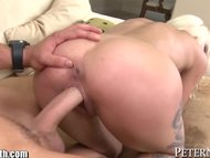 PeterNorth MILF With Accent Fucks College Boy