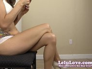 Lelu Love-Bra Panties Leg...