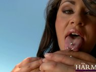 Harmony Vision Busty slut drowned in cum