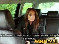FakeTaxi Unhappy customer sucks cock or a long walk