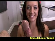 Hand Job for Nikki Lavay Stepson